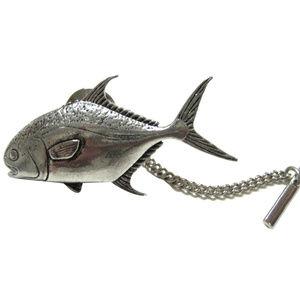 Permit Fish Tie Tack